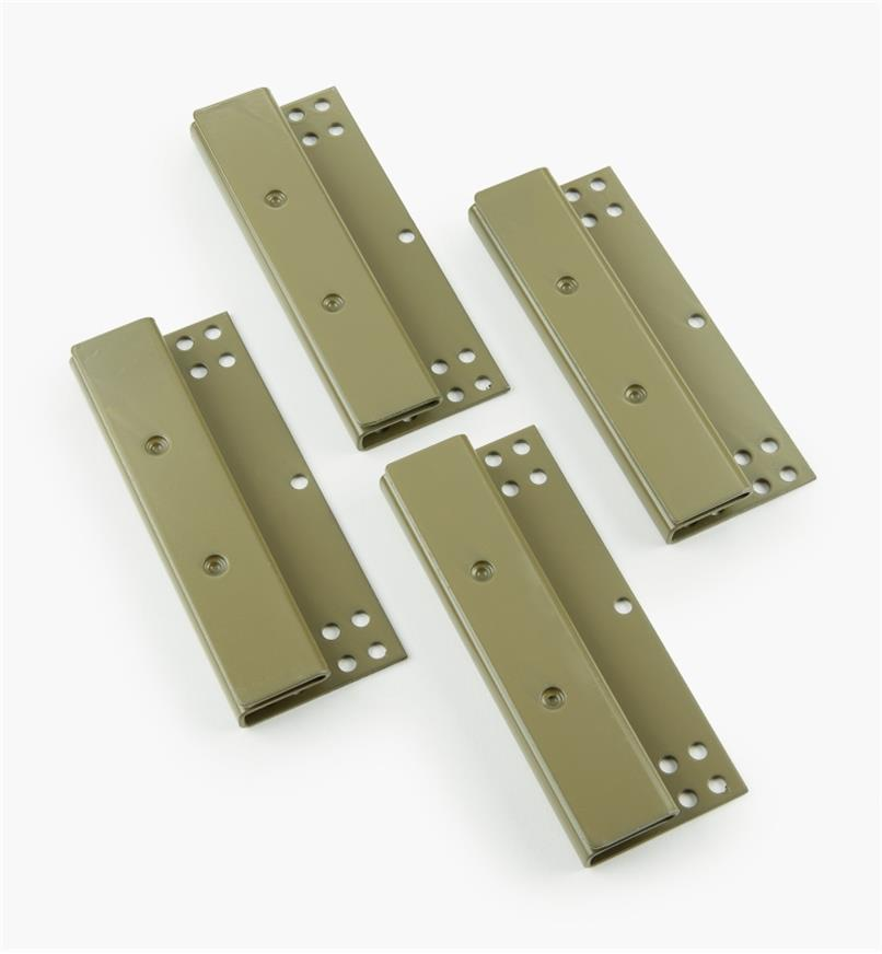 01S0205 - Sleigh-Bed Bedlocks, pkg. of 4