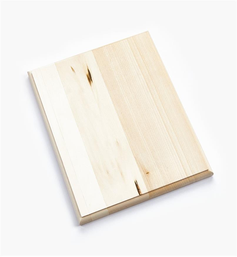 "38N1231 - 8"" x 10"" Rect. Profiled-Edge Basswood Plaque, ea"