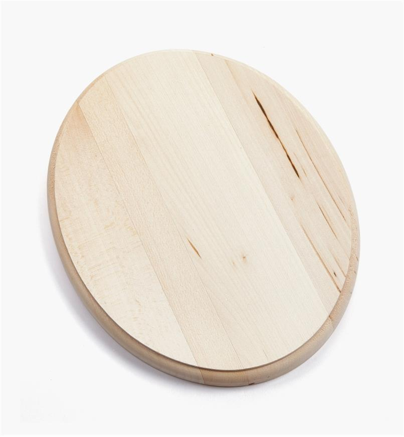 "38N1242 - 8"" x 10"" Oval Profiled-Edge Basswood Plaque, ea."