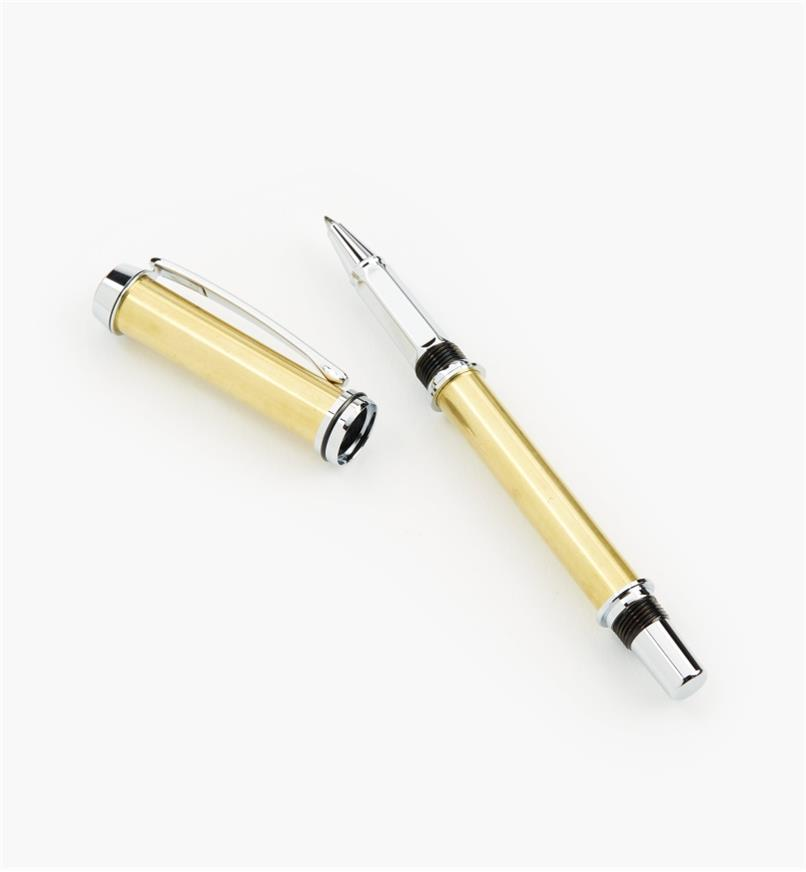 88K7661 - Baron Rollerball Pen, Chrome