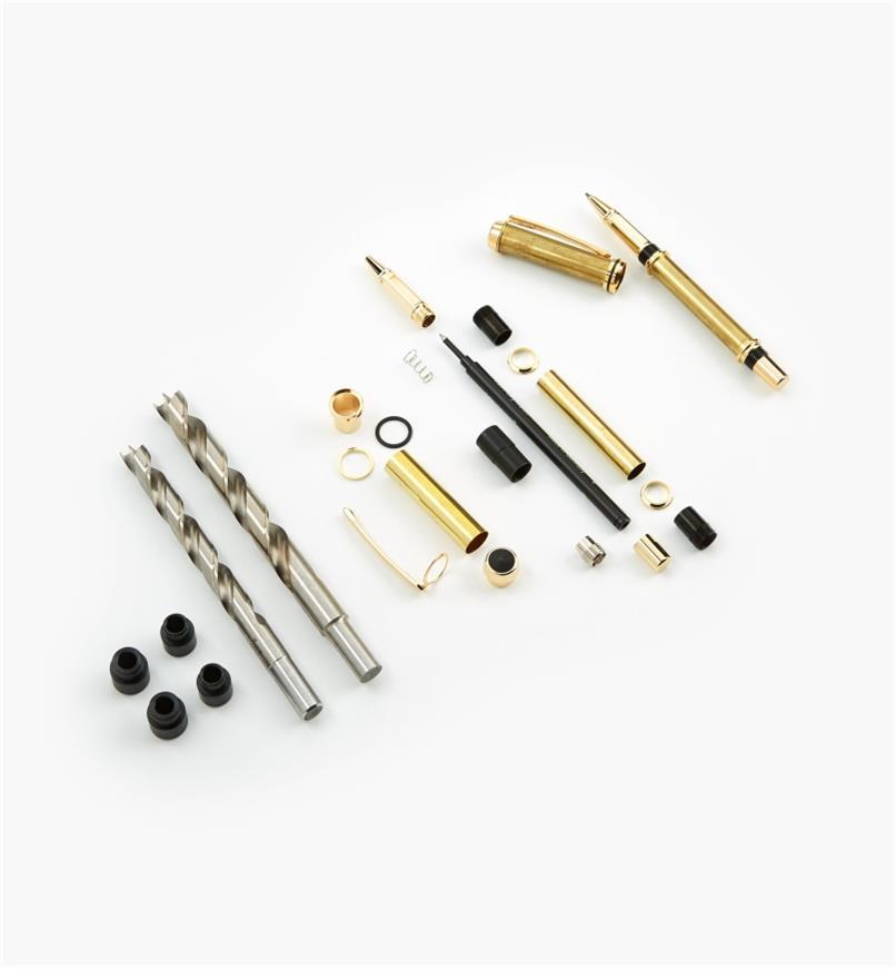 88K7669 - Baron Rollerball Pen Starter Kit