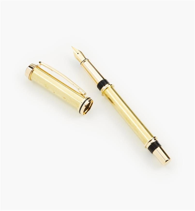 88K7670 - Baron Fountain Pen, Gold