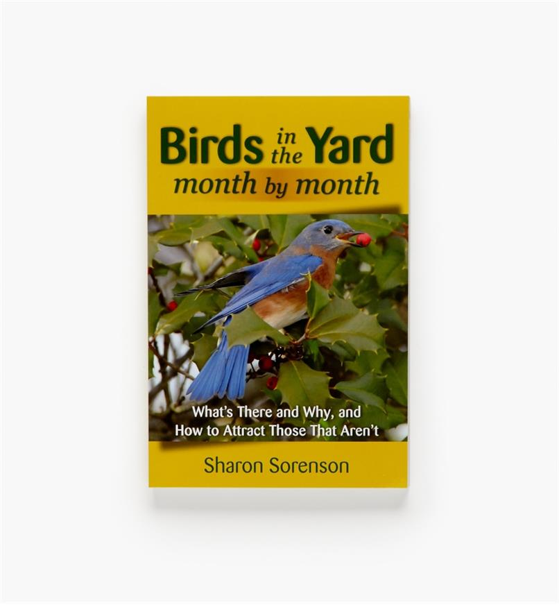 LA822 - Birds in the Yard Month by Month