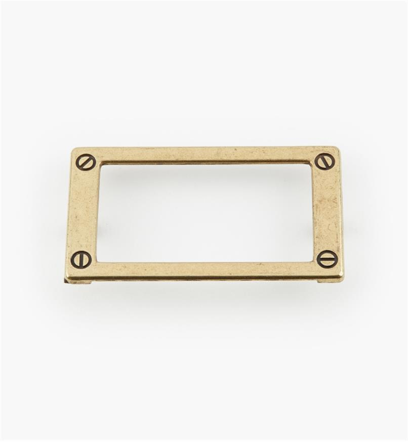 01W3512 - 79mm Antique English Card Frame