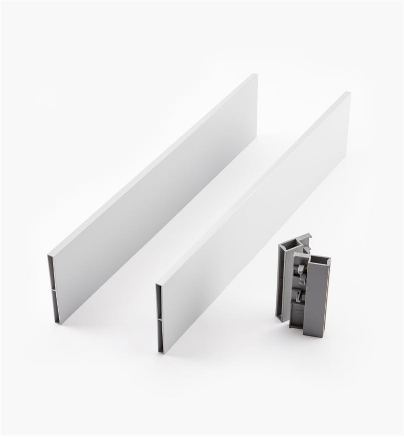 02K2847 - Steel Insert Panels for Blum Tandembox Antaro Soft-Close Type D 450mm Drawer Kit