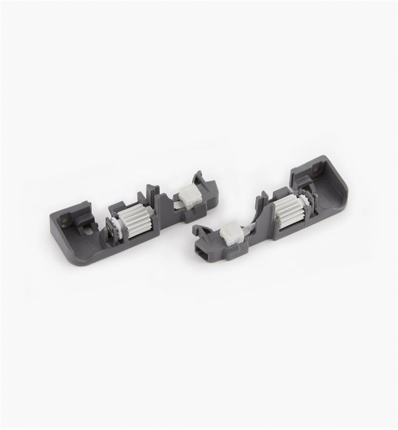 02K5390 - Dispositifs d'ajustement de profondeur pour coulisses Movento Blum, la paire