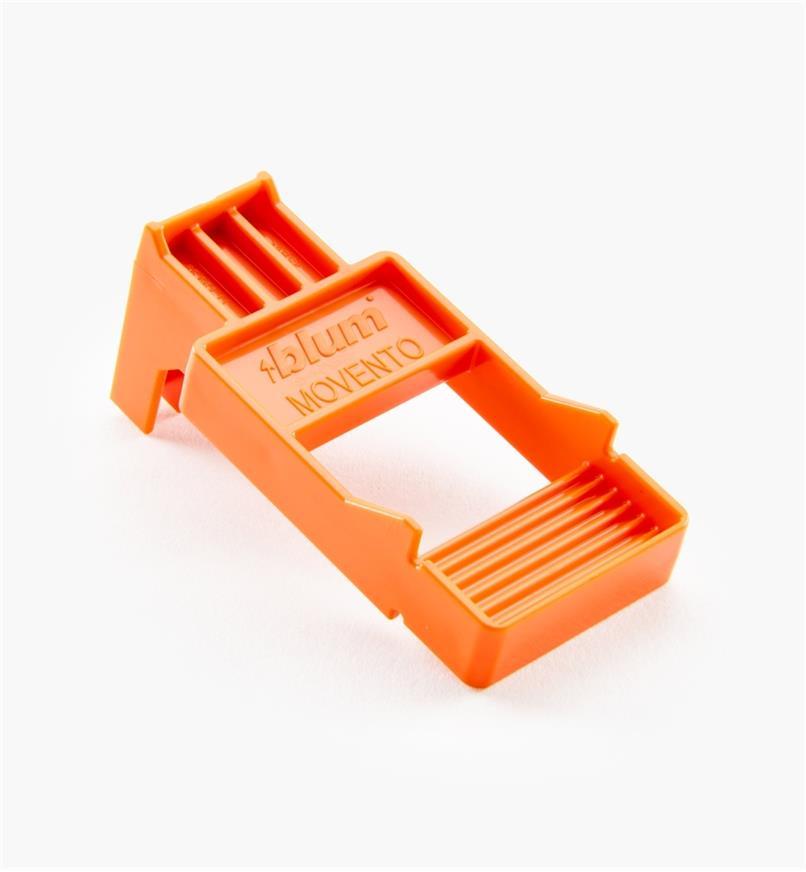 02K5666 - Gabarit de montage Blum pour coulisses de tiroir Tip-On Movento