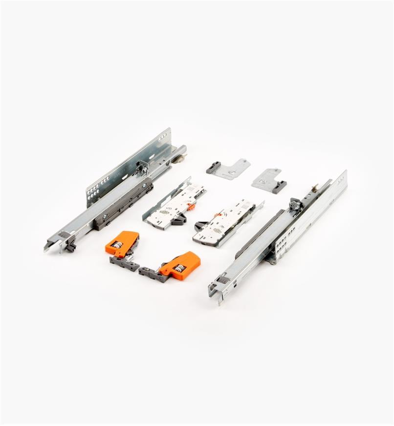 02K5730 - Coulisses pour tiroir Tip-On Movento Blum 300mm (12po), lapaire