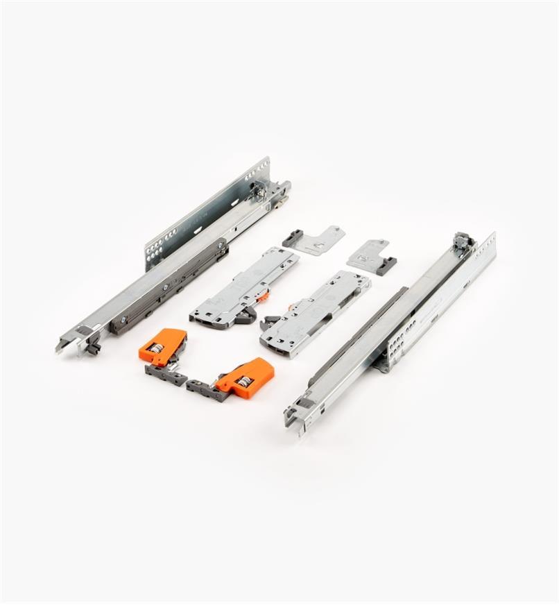 02K5745 - Coulisses pour tiroir Tip-On Movento Blum 450mm (18po), lapaire