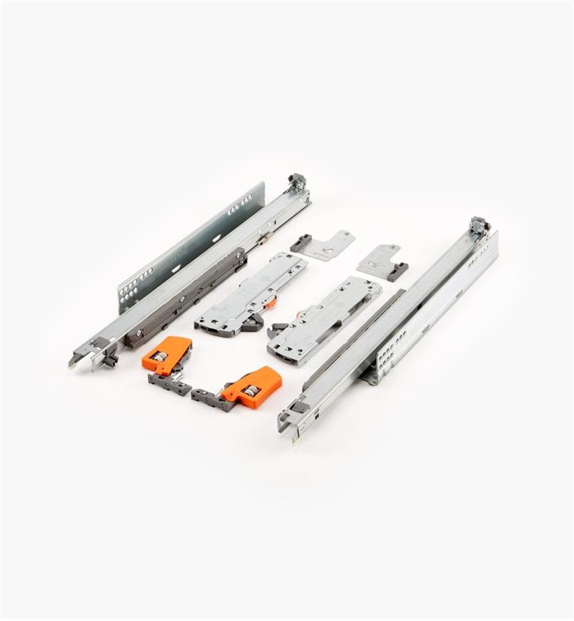 02K5750 - Coulisses pour tiroir Tip-On Movento Blum 500mm (20po), lapaire