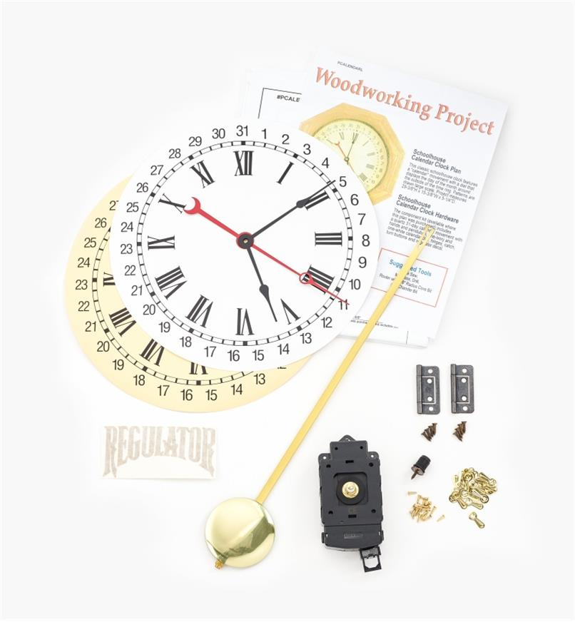 46K3404 - Calendar Clock Kit and Plan
