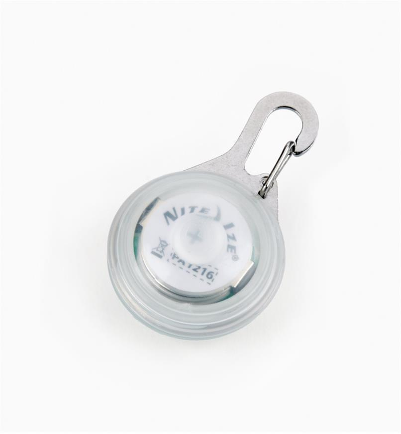 68K0670 - Carabiner Light, White