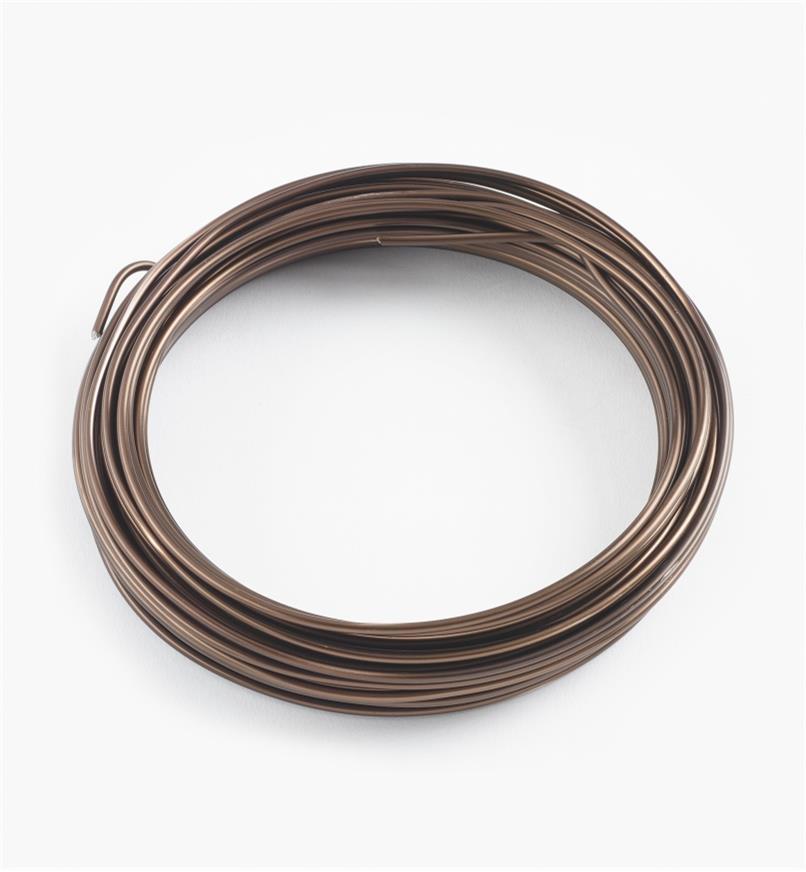 BC131 - Fil à ligaturer en aluminium, 2,5mm (15 m)