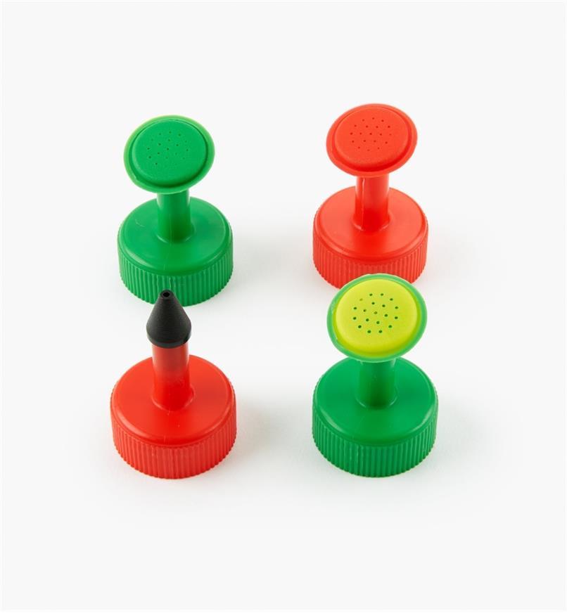 XC495 - Bottle-Top Waterers, Set (4)