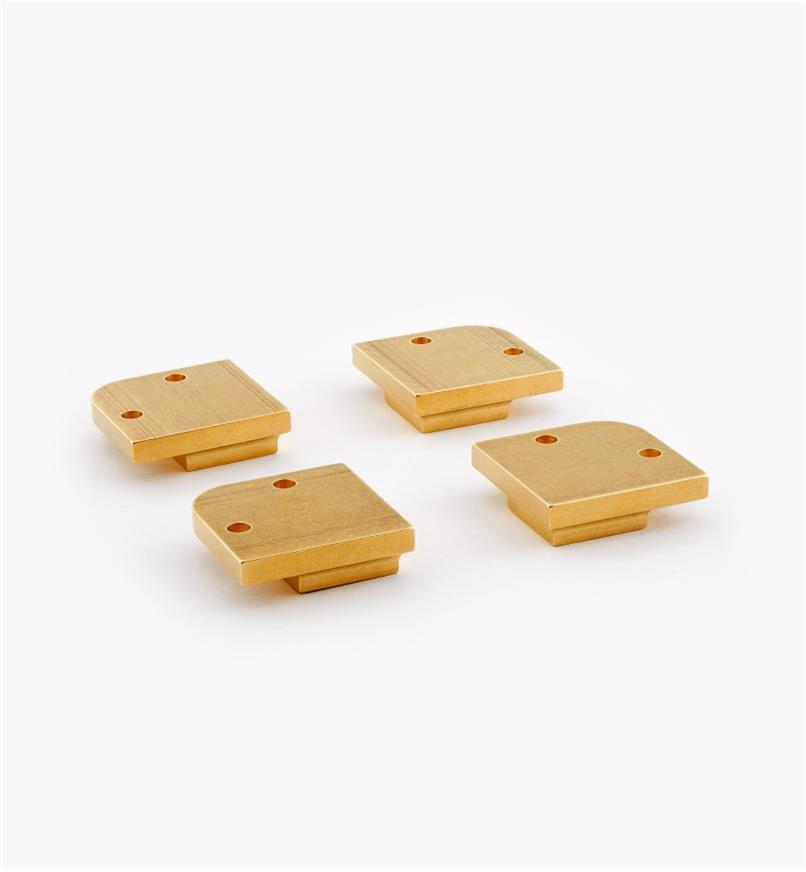"01B0703 - 7/8"" Square Feet, set of 4"