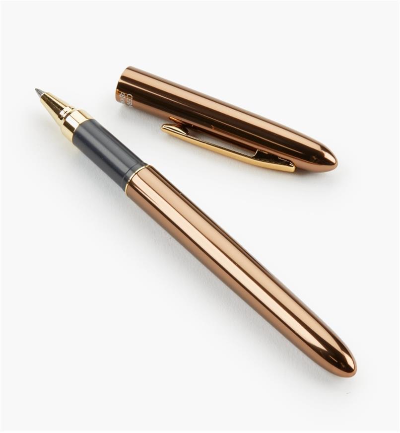 45K1832 - Ceramic-Tipped Slim Ballpoint Pen, Bronze