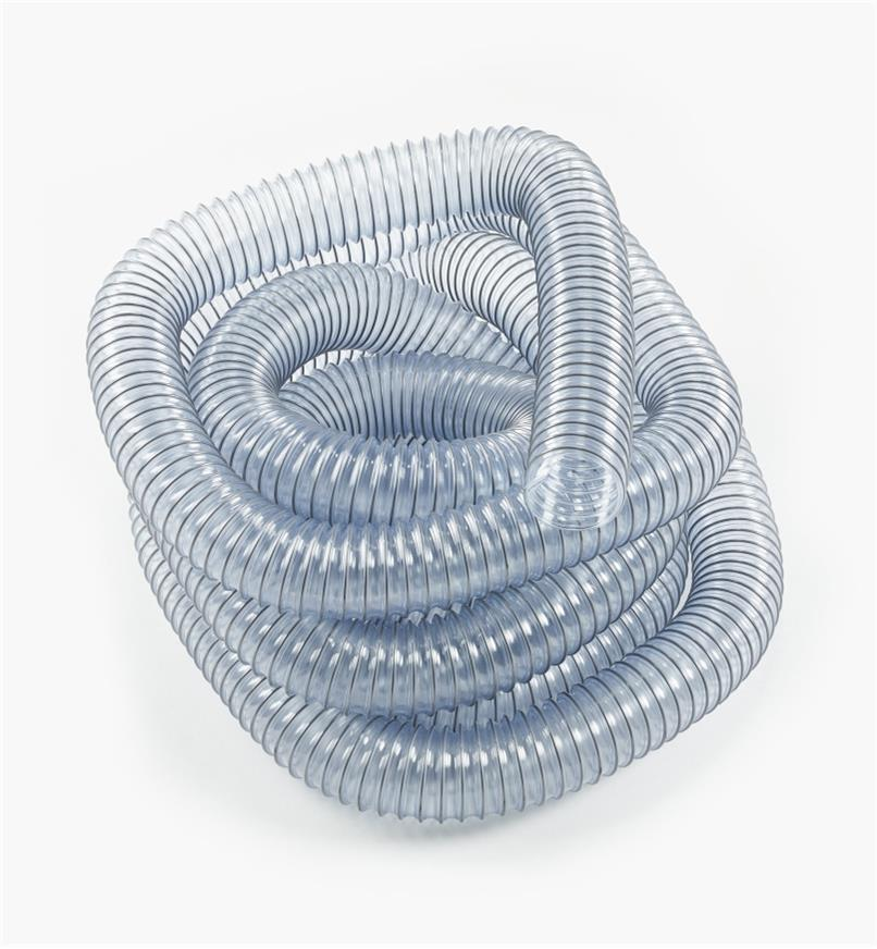 "03J6510 - 2.5"" PVC Collection Hose, 25'"