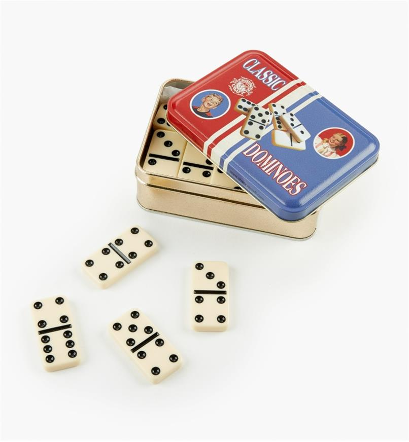45K2262 - Dominoes, 28-pc. Set