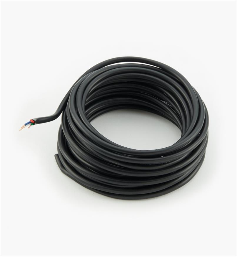 00U4164 - 20ga. Solid-Core Four-Conductor Outdoor-Rated Wire, 26.2' (8m)