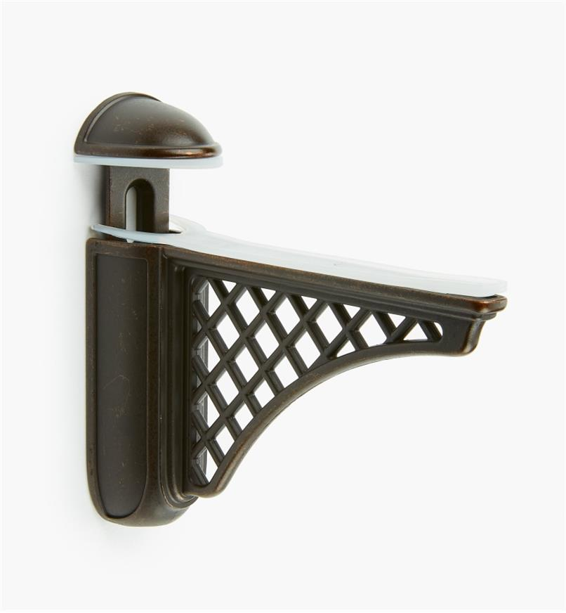 01A1850 - Colonial Dark Bronze Adjustable Bracket, each