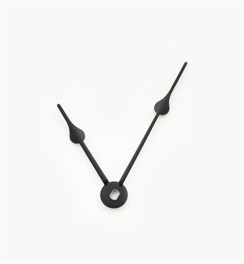 "44K0317 - 2 1/2"" Black Clock Hands, pr"