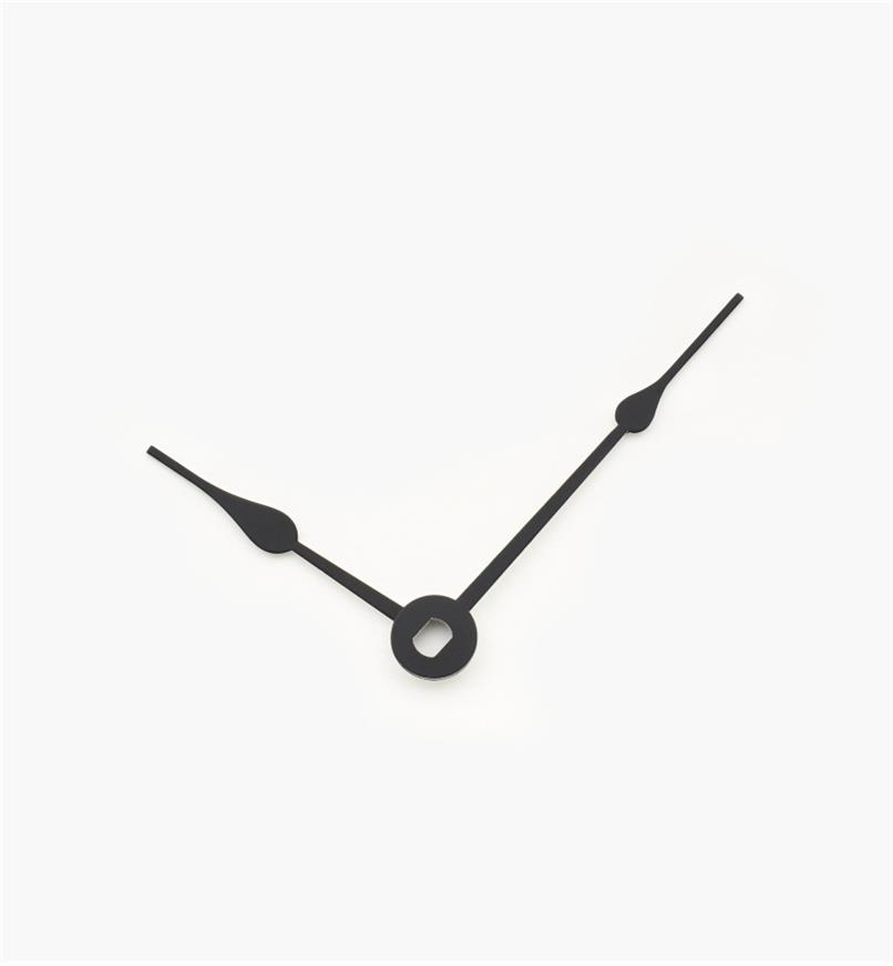"46K0314 - 1 7/8"" Black Clock Hands, pr"