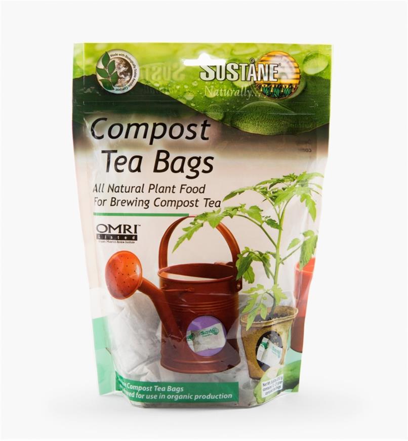 HK706 - Thé de compost en sachets, le paquet de 12