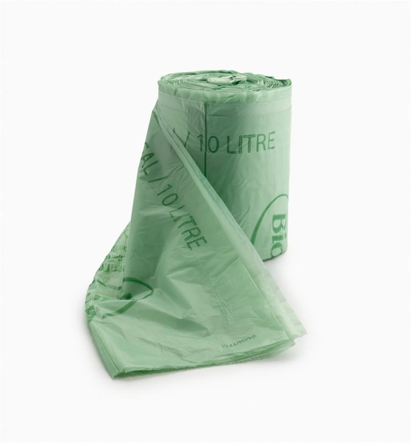 XG182 - Compostable Bags, Roll of 100