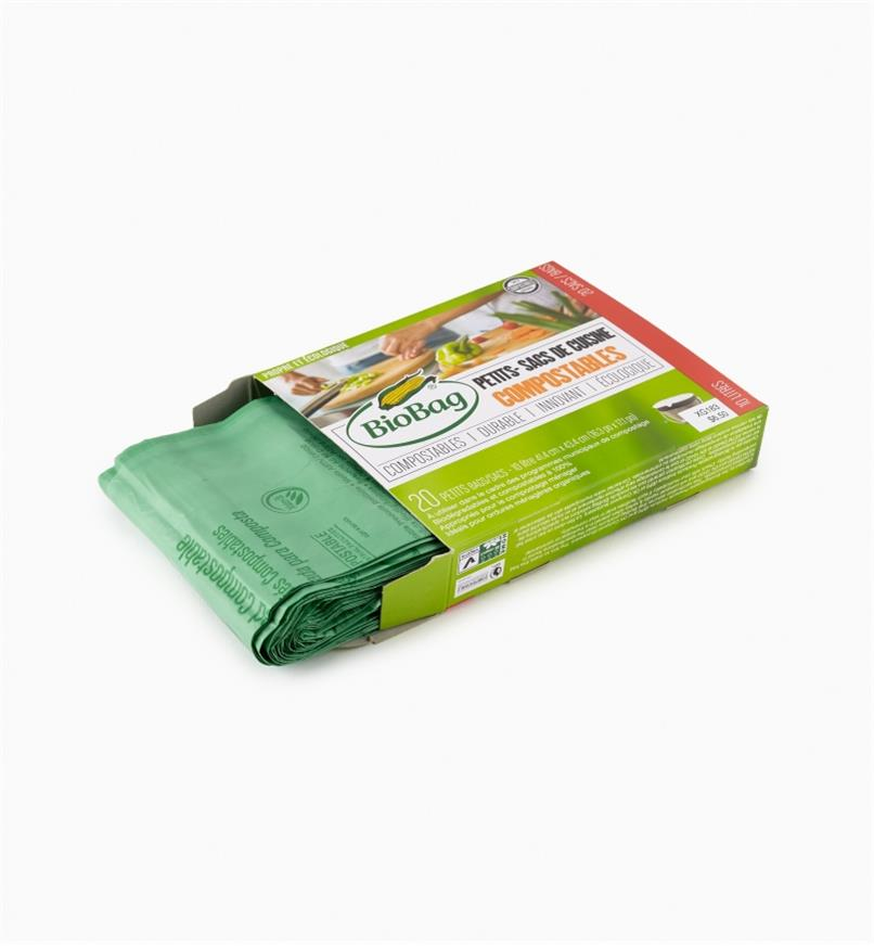 XG183 - Compostable Bags, Roll of 20