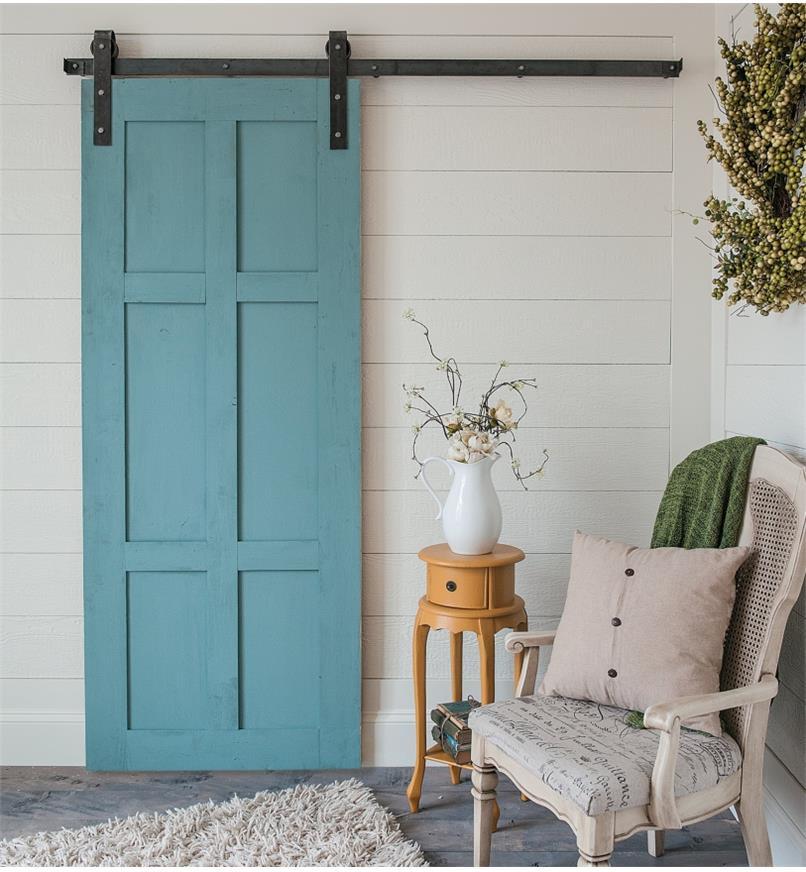 00B1045 - Classic Face-Mount Barn-Style Door Hardware