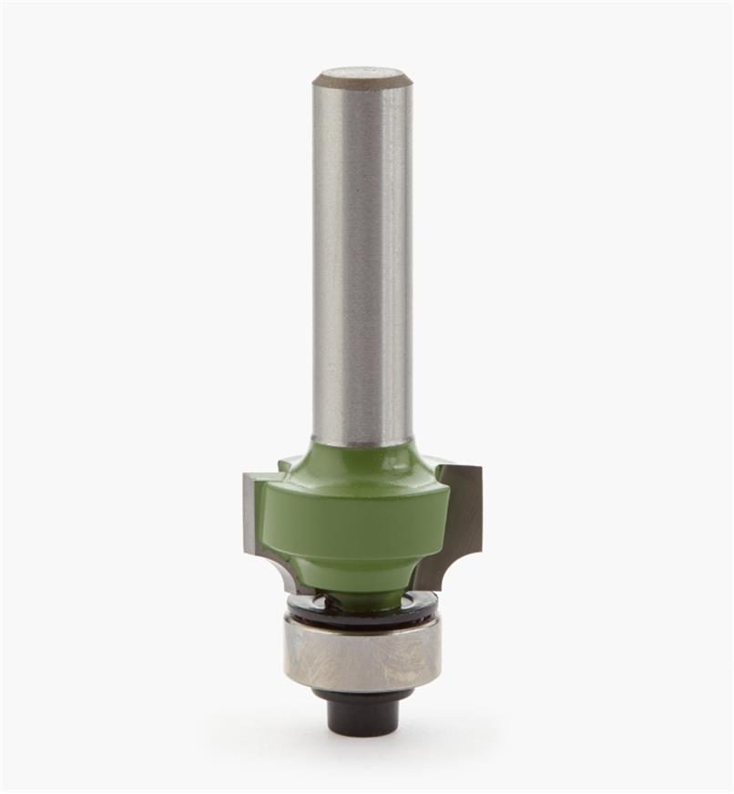 18J2702 - Mèche pour quart-de-rond, 1/8 po de rayon, queue de 8 mm