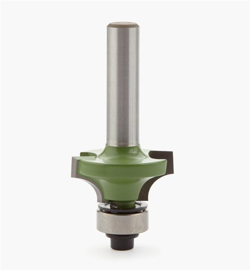 18J2704 - Mèche pour quart-de-rond, 1/4 po de rayon, queue de 8 mm