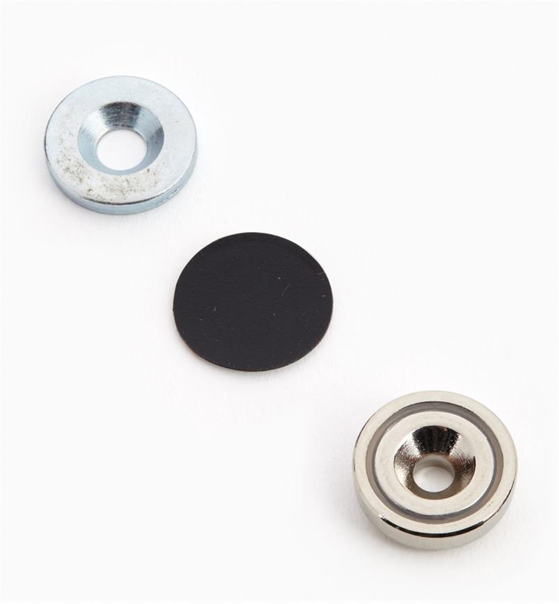 "99K3904 - 5/8"" Cupped Magnet Set"
