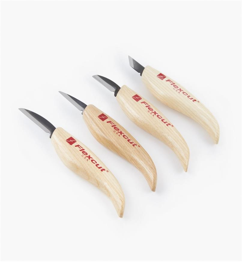 06D0516 - Flexcut Knives, set of 4