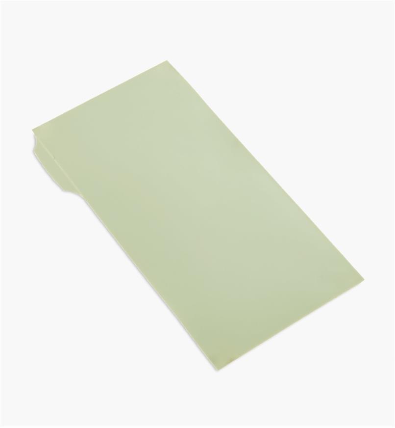 54K9601 - Pellicule diamantée autocollante de 0,1 µm, 3 po x 6 po, vert