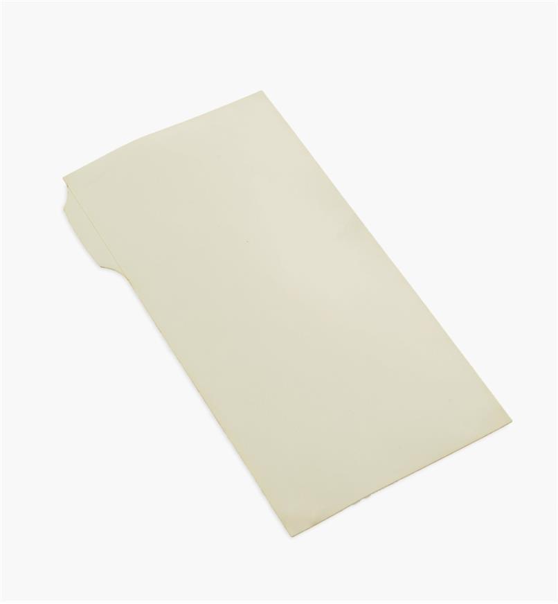 54K9602 - Pellicule diamantée autocollante de 0,5 µm, 3 po x 6 po, beige