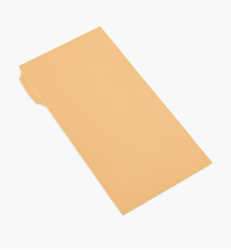 54K9608 - Pellicule diamantée autocollante de 15 µm, 3 po x 6 po, orange