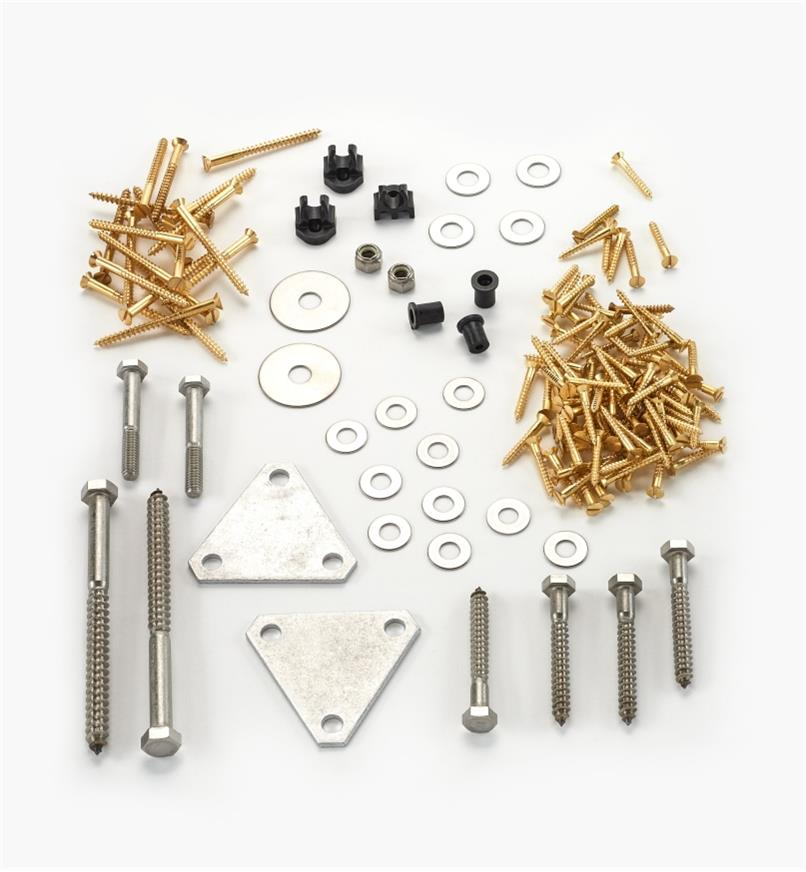 01L6102 - Hardware for LV Folding Table (135 pcs.)
