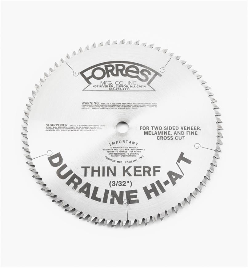 "15T4155 - 10"" x 80-Tooth Duraline,3/32"" Kerf"