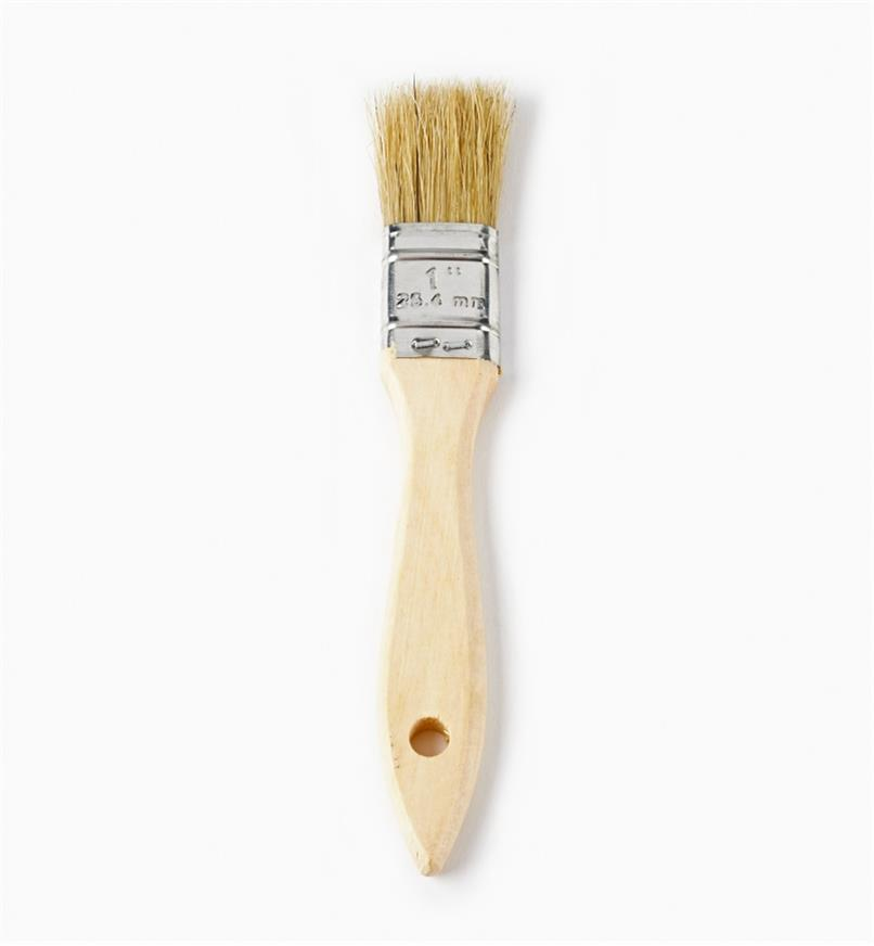"56z9921 - 1"" Bristle Brushes, pkg of 10"