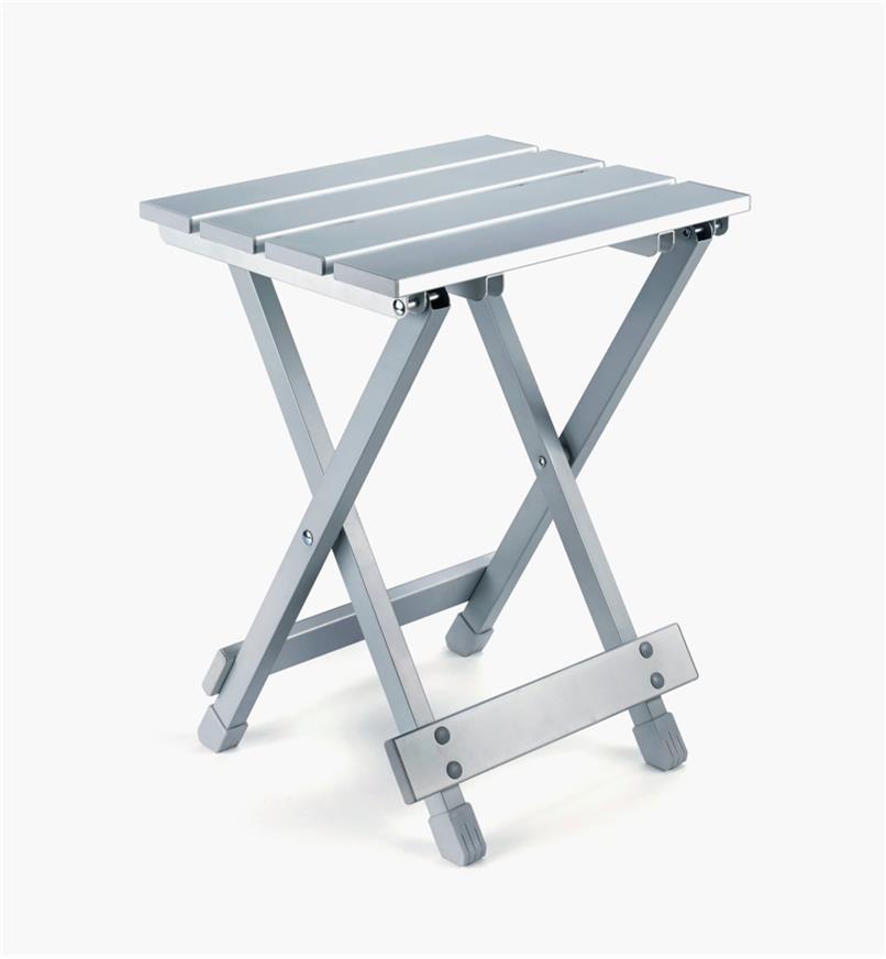 XJ267 - Table d'appoint pliante en aluminium