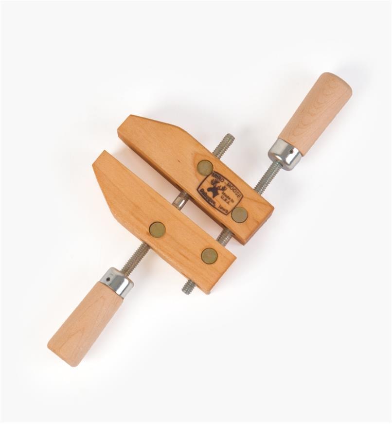 "03F0704 - 4"" x 2"" x 2 1/4"" Dubuque Wooden Handscrew, each"