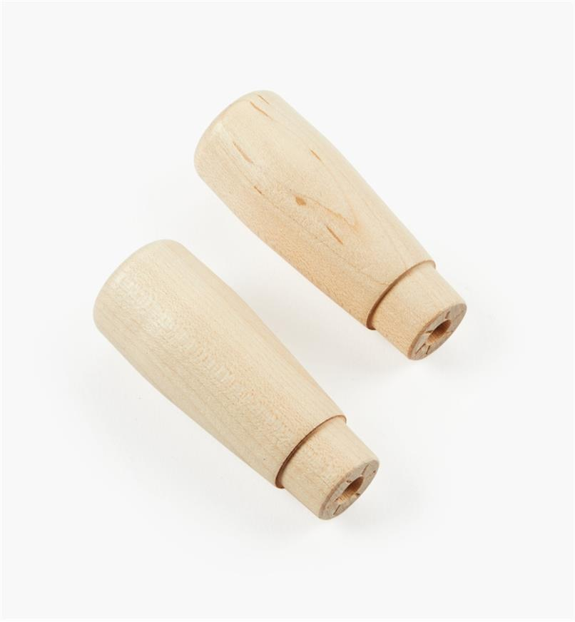 03F0738 - Poignées pour ensemble de serre-joint articulé Dubuque, 3 po, la paire