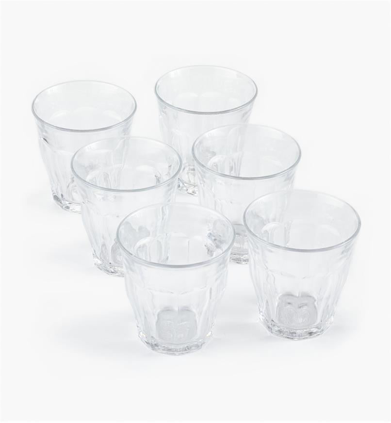 44K0805 - Duralex Picardie 160ml (5.4 fl oz) Glasses, set of 6