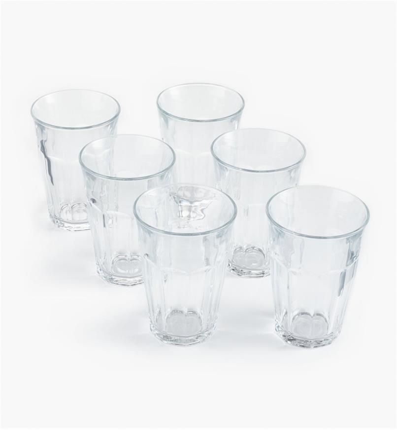 44K0807 - Duralex Picardie 360ml (12.2 fl oz) Glasses, set of 6