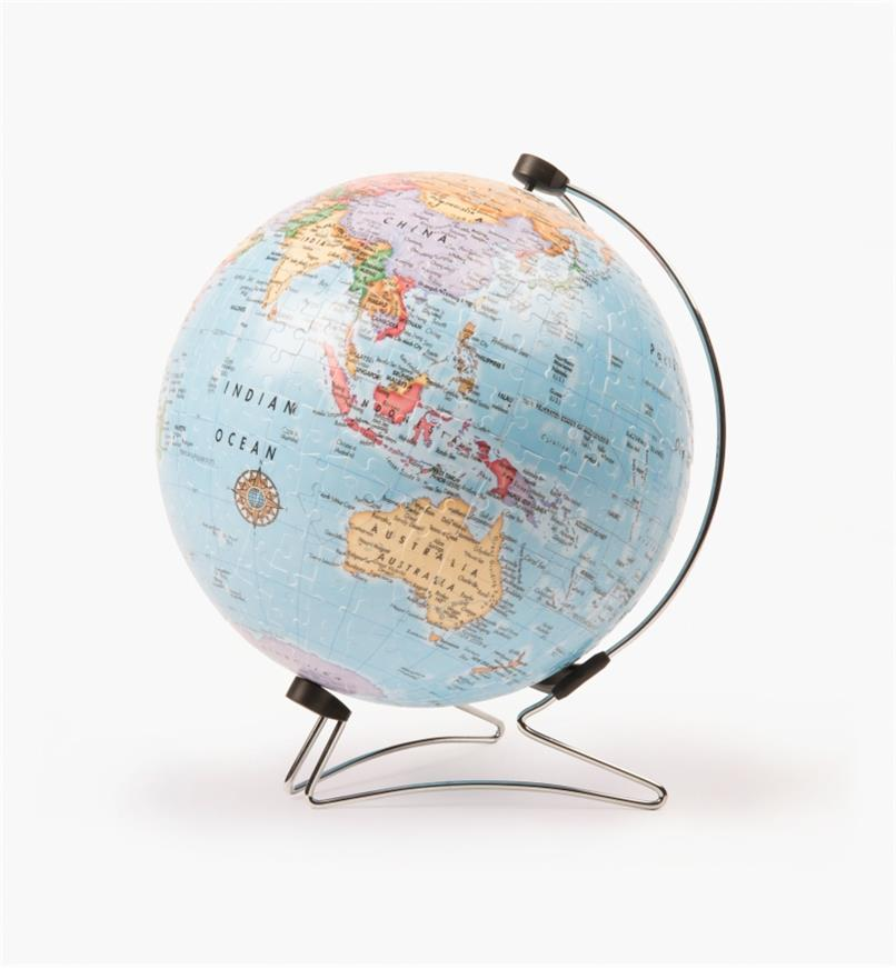 45K1586 - 3D Globe Puzzle