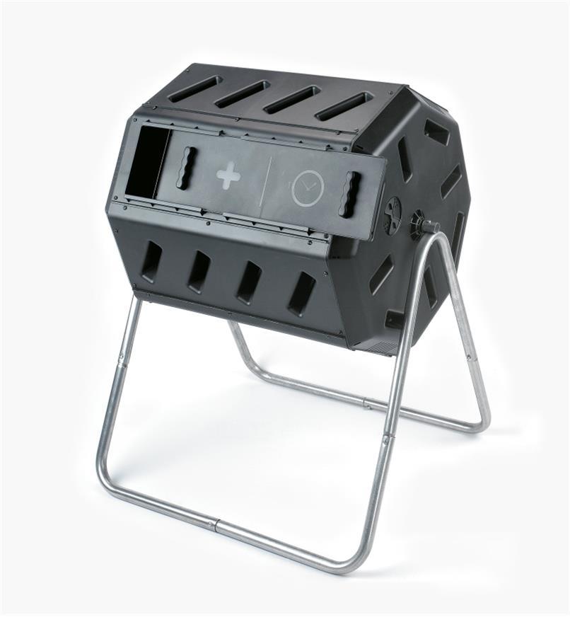 CT106 - Composteur rotatif à compartiment double