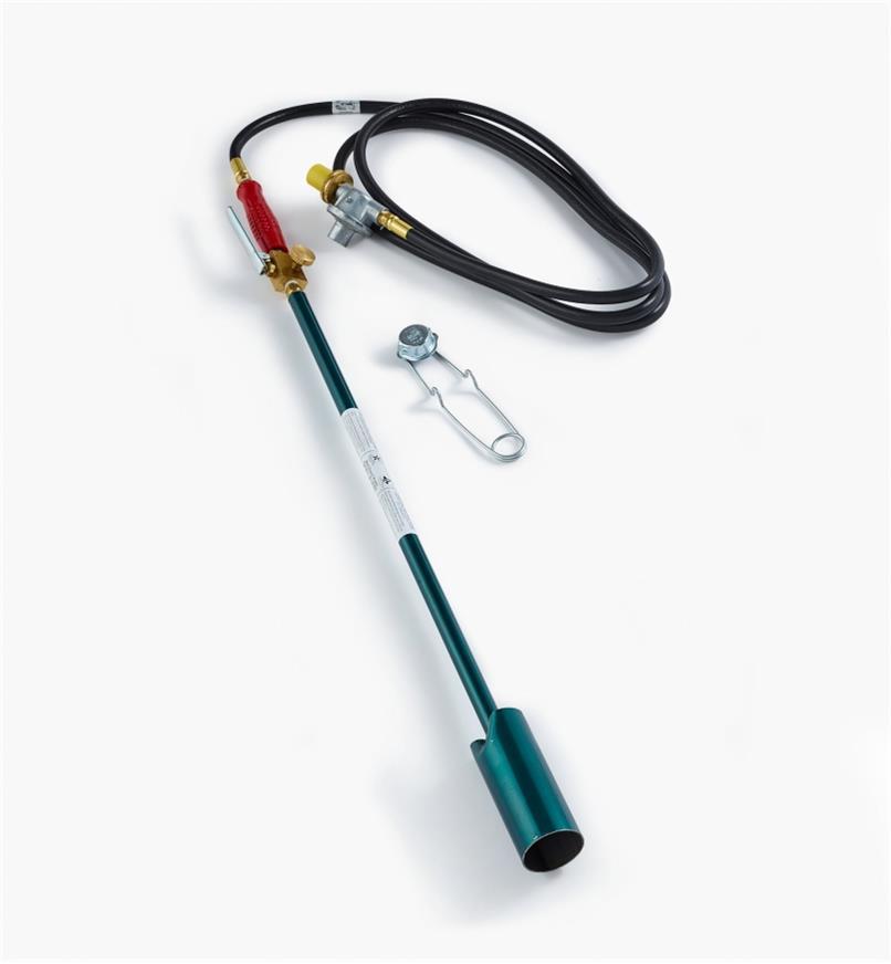 PT616 - Désherbeur thermique géant à manette de réglage