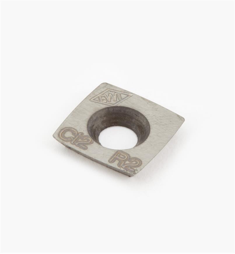 36B0125 - Plaquette facultative pour petit racloir à dégrossir Easy Rougher, rayon de 2po