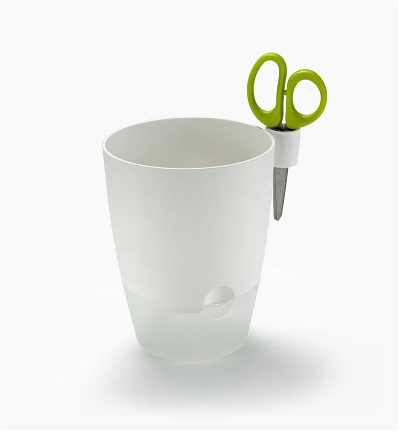 XB720W - Elho Windowsill Herb Pot, White